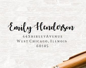 Return Address Stamp, Return Address Stamper, Address stamp, Custom Address Stamp, Self Inking Address Stamp, Personalized Address Stamp -63