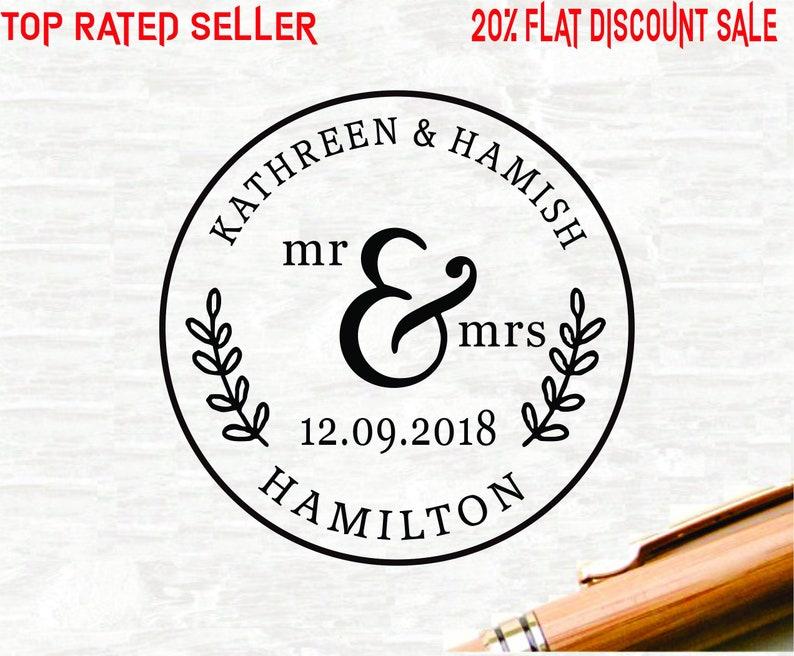 Monogram Embosser Embosser-E6 Address Embosser Custom Embosser Save the Date Embsose Embossing Stamp,Wedding Embosser Embossing Seal
