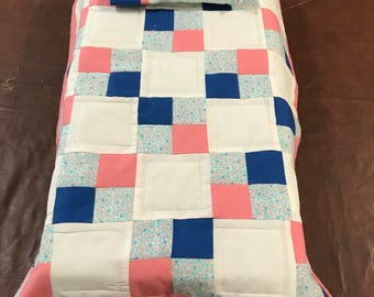 Doll Quilt and pillow