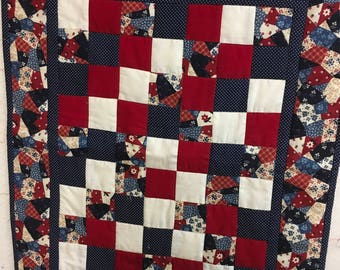 Doll Quilt with pillow