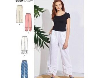 805e3b6cb6 Simplicity 8922, Misses Pants, Pull On Pants, Leg Variations, New uncut sewing  pattern