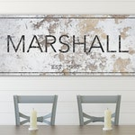 Farmhouse Art, Custom Name Decor, Rustic Sign, Family Wall Art, Farmhouse Wall Decor, Last Name Sign, Custom Wall Art, Farmhouse Style Sign