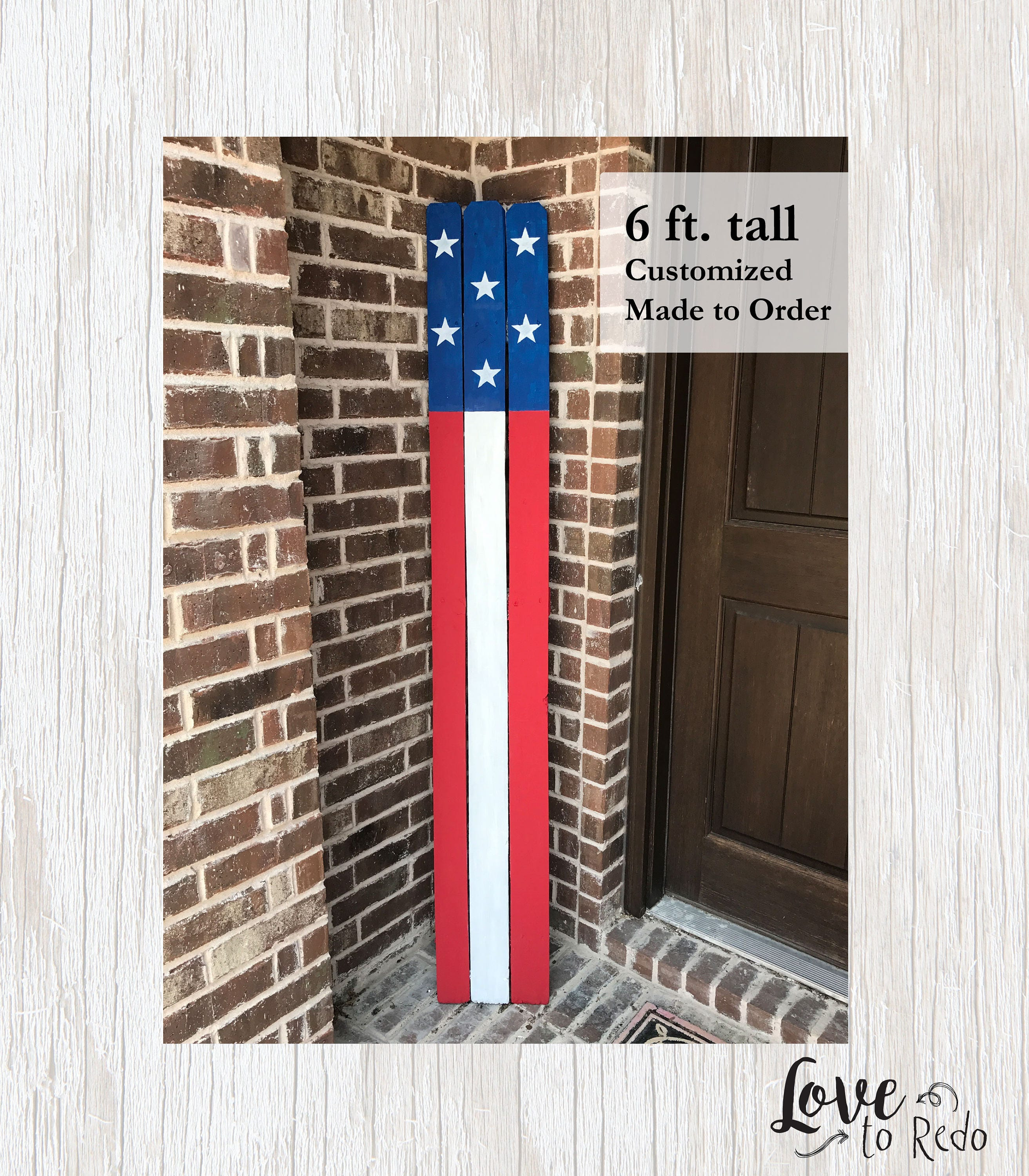American Home Decorators: Patriotic Decor American Flag Sign Patriotic Home Decor
