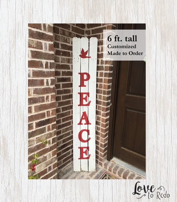 image 0 - Peace Outdoor Christmas Decorations