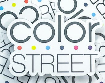 Stylist Stickers, Color Street Stickers, Colorstreet stickers, color street decals, color street gifts, Color street magnets