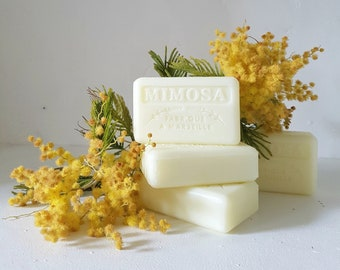 Mimosa SOAP / SOAP handcrafted /Savon vegan / natural SOAP/SOAP/SOAP spring/made handmade soap bath/shower/party day