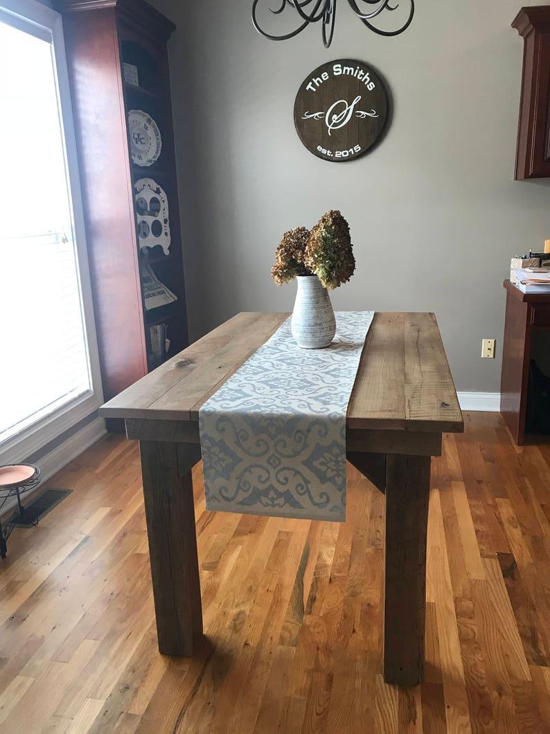Superieur Barn Wood Table, Reclaimed, Reclaimed Wood  Table,rustic,distressed,reclaimed Wood, Farmhouse, Barn Wood, Furniture,  Wood, Dining Table, Prim