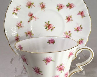Royal Albert Rosebud Teacup and Saucer