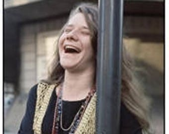 Janis Joplin in London poster