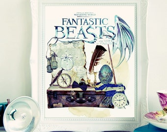 Fantastic Beasts & Where to Find Them.
