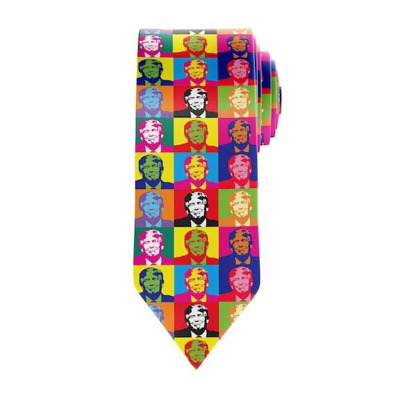 Donald trump tie custom tie sublimation printed ccuart Gallery