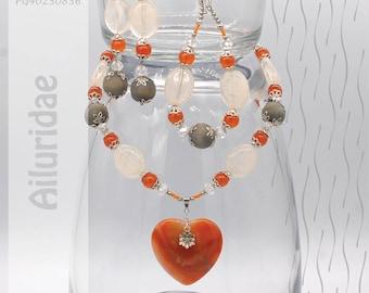 Jewelry Set   Necklace, Bracelet, Earrings   Ailuridae PG40230836