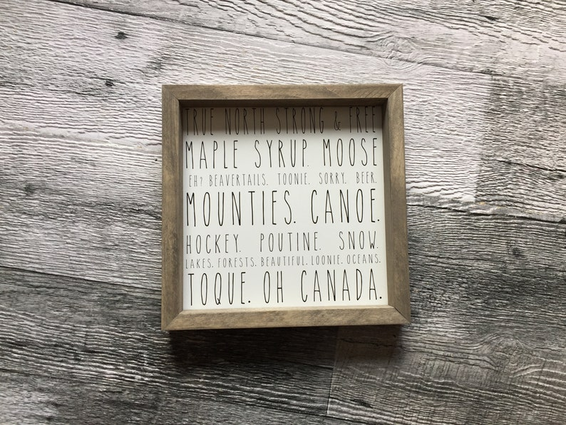 OH Canada Sign image 0