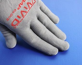 Professional Vinyl Wrap Project Gloves | Anti-Static Microfiber Applicator Gloves | Prevents From Oil, Grease & Fingerprints | VViViD