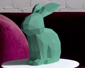 pdf for papercraft deer head