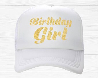 8ca9797e2ef Birthday Girl Trucker Hat