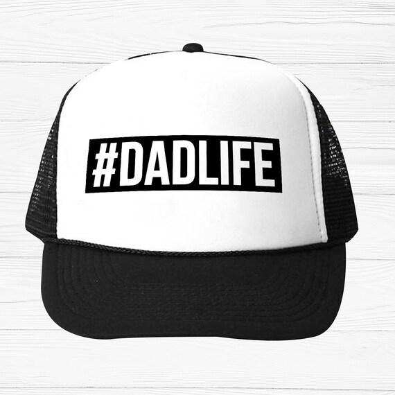 Dad Life Trucker Hat Dad Hat Dad Trucker Hat Dad Life Hats  9d2aa8e1deb