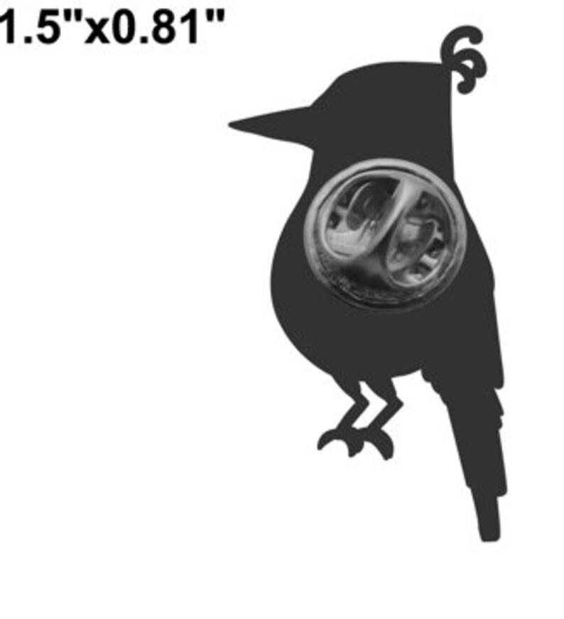 Kookaburra lapel pin image 3
