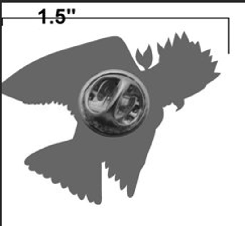Galah lapel pin image 3