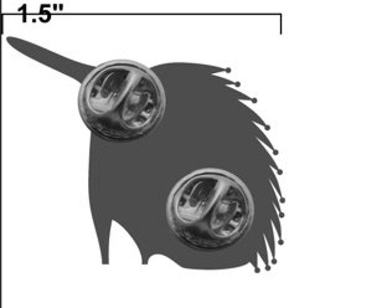 Echidna lapel pin image 2