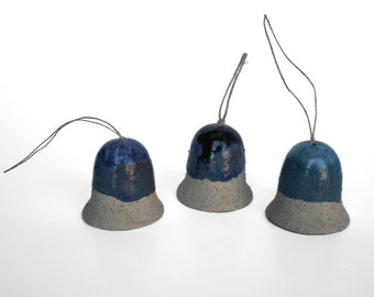 Bell Ornament - Blue