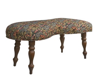 comfy seat Refinished form with shabby chic iron feet Antique Wrought Iron Shoe Store Stool and Footrest great form for shoe lovers