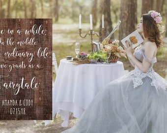 Fairytale Rustic Solid Wood Wedding  - WFT0101_4W