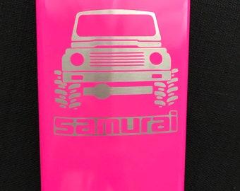 Suzuki Samurai Flask