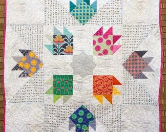 Ursa Major Modern Vibrant Quilt