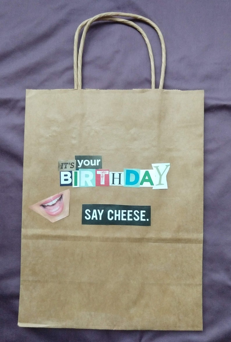 Say Cheese Birthday Gift Bag