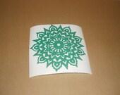 Mandala DIY vinyl decal/ mandala for wall/ removable vinyl sticker/ wall art/ home decor