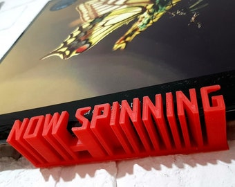 Printed vinyl record stand by taz studio - for Home Printing - Speaker Print File