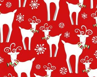 180665 Red Reindeer Allover