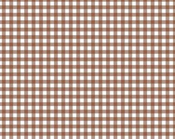 170349 Light Brown Plaid