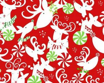 180668 Red Reindeer Heads