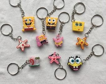Spongebob keychain   Etsy