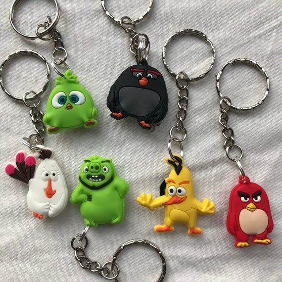 ANGRY BIRDS Key Fobs really cute keychains