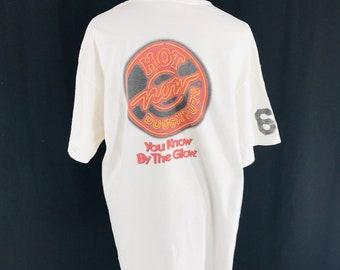 8a1a3563ffd Vintage 90s Krispy Kreme White T-Shirt Size XL