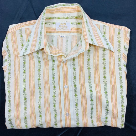 Vintage 1970/'s Shirt by Arrow Kent Collection