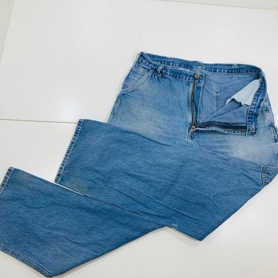 Vintage Y2K Carhartt Blue Denim Carpenter Jeans Du