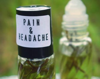 PROMO- Rosemary Peppermint Pain & Headache Travel/Purse/Pocket Roller