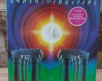 Earth Wind and Fire Vinyl ''I am'' LP