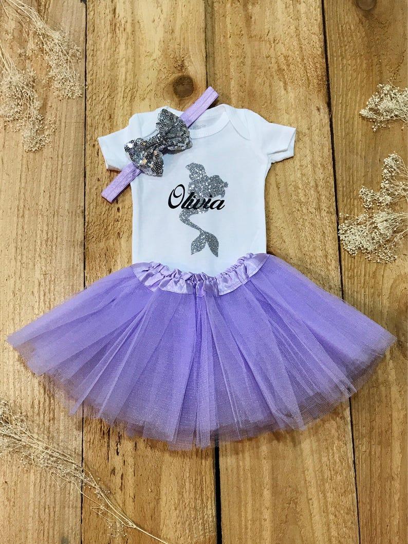 3f778ebcec24 Ariel onesie baby girl onesie onesie sets baby outfit