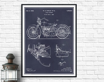 Dictionary Page Book Art Print Harley Patent 1925 DPUN009 Original William S