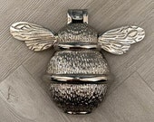 Brass Bumble Bee Door Knocker - Nickel Finish