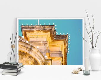 Architectural Photography Print, Wall Art, Color Print, Printable Art, Instant Digital Download Print