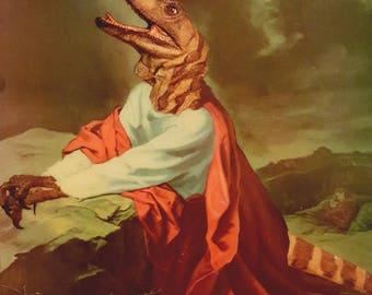 raptor jesus etsy