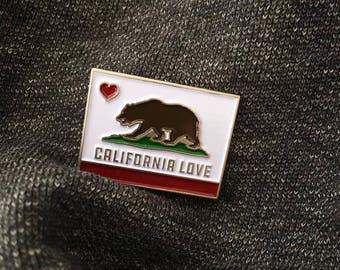 CALI LOVE Enamel Pin
