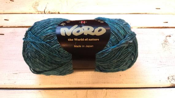 Noro Garn Silk Garden Sock Solo S32 Meeresblau Wolle Etsy