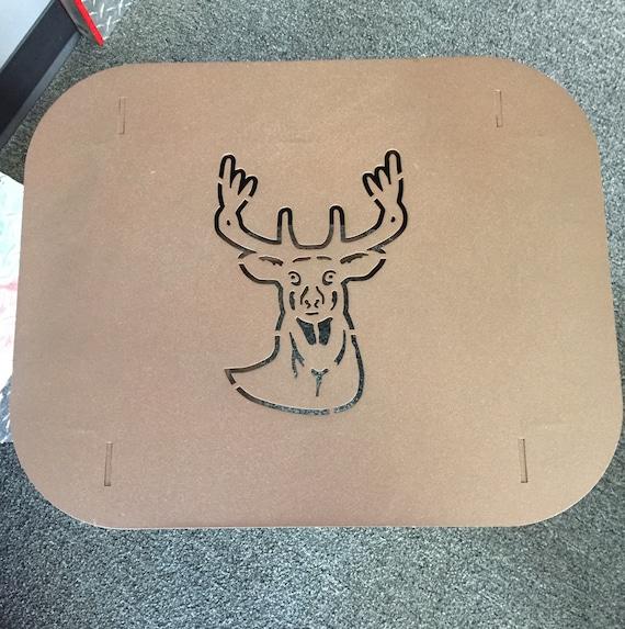 Deer Patio End Table